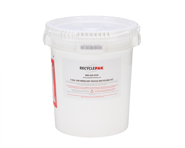 SUPPLY-049- 5 GAL UNIVERSAL WASTE MERCURY CONTAINING EQUIPMENT RECYCLING PAIL