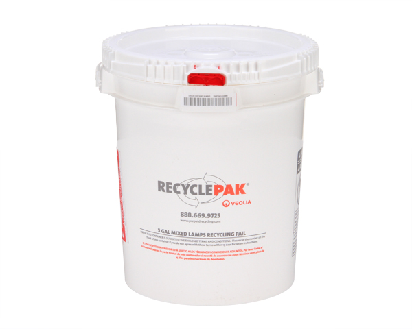 SUPPLY-068- 5 GAL MIXED LAMP RECYCLING PAIL