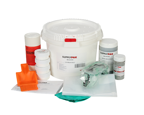 SUPPLY-225- SUPPLYPAK MERCURY SPILL KIT